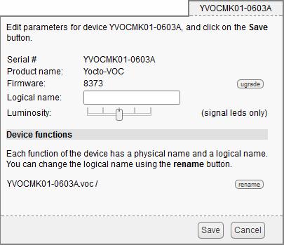 Yocto-VOC : User's guide