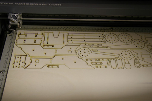 The laser cutter: a model-maker's dream machine