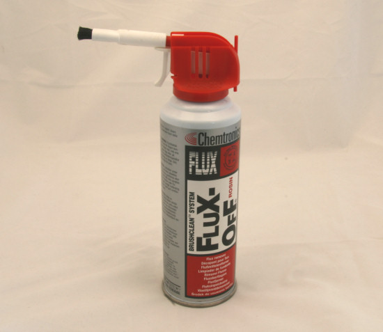 This product allows you to clean flux traces relatively easily
