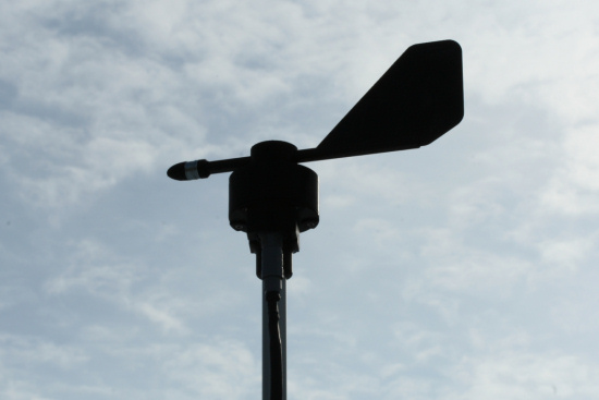 Your very own USB wind vane