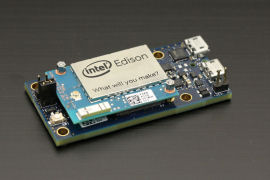 The Intel breakout board