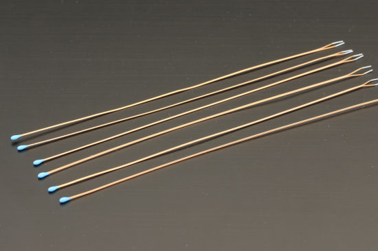 The Yocto-MaxiThermistor is sold with 6 NTC thermistors