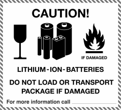 Packages that include a lithium battery must be declared as such
