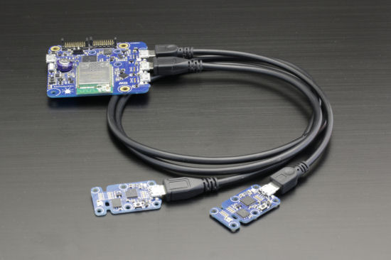 The YoctoHubs use MicroB-MicroB cables