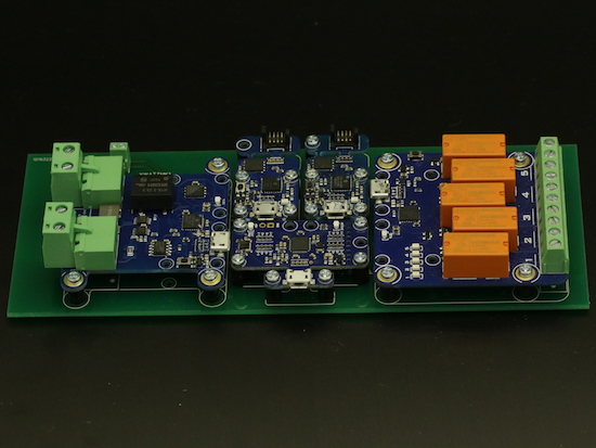 Yoctopuce devices assembled using a custom PCB