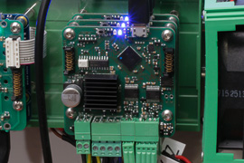 The Yoctopuce stepper motor controller prototypes