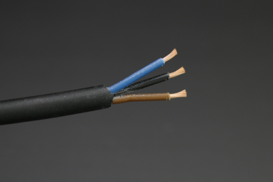 PNP or NPN, there are always these three wires: blue, black, and brown