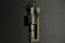 Before: a seized-up float valve