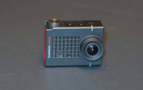 The camera is a Garmin Virb Ultra 30