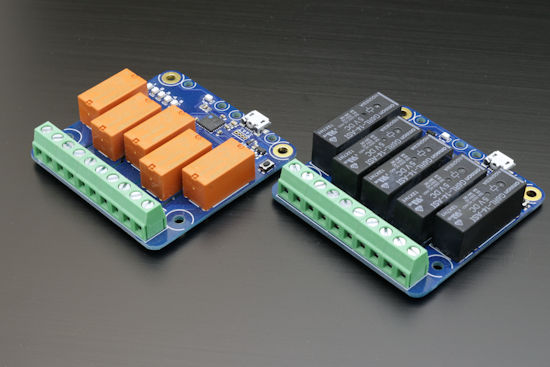 Yocto-MaxiPowerRelay Rev.B vs Rev.C