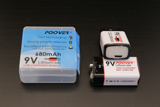 Batterie rechargeable POOVER