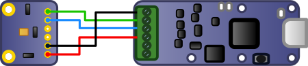Connection to the Yocto-I2C