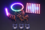 The Yocto-Color-V2 can drive third party LEDs panels