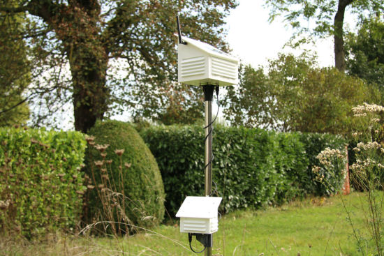 Our new weather station, living its own life