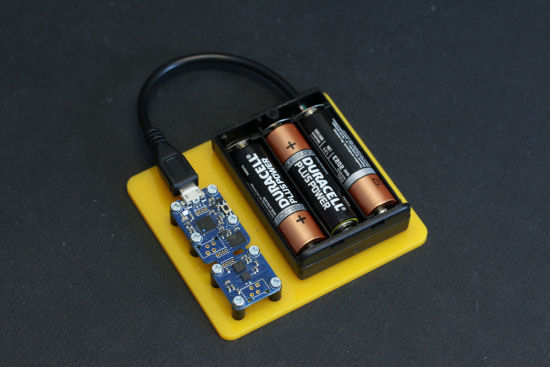 Three simple batteries are enough to power the Yocto-3D