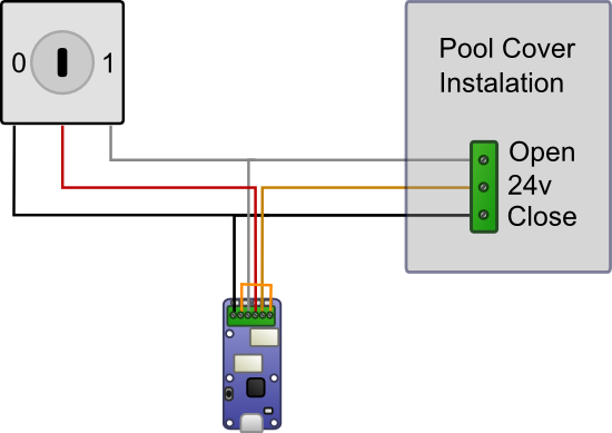 Cabling with a Yocto-Relay