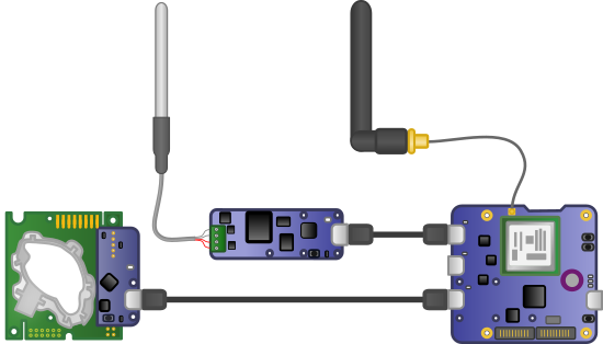 The system schematic